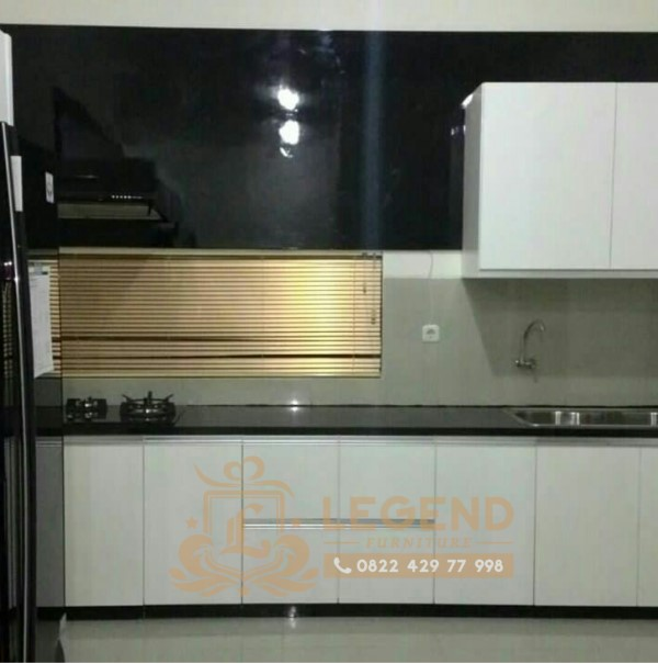 Kitchen set minimalis gantung